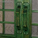 Ручки дверные из сосны