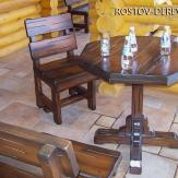 Стол с 8 угольной крышкой