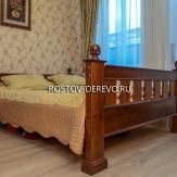 Кровать двухспальная. Ясень