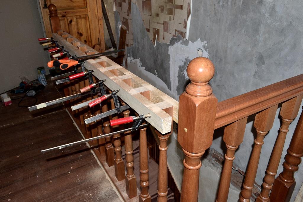 Перила для лестницы своим руками